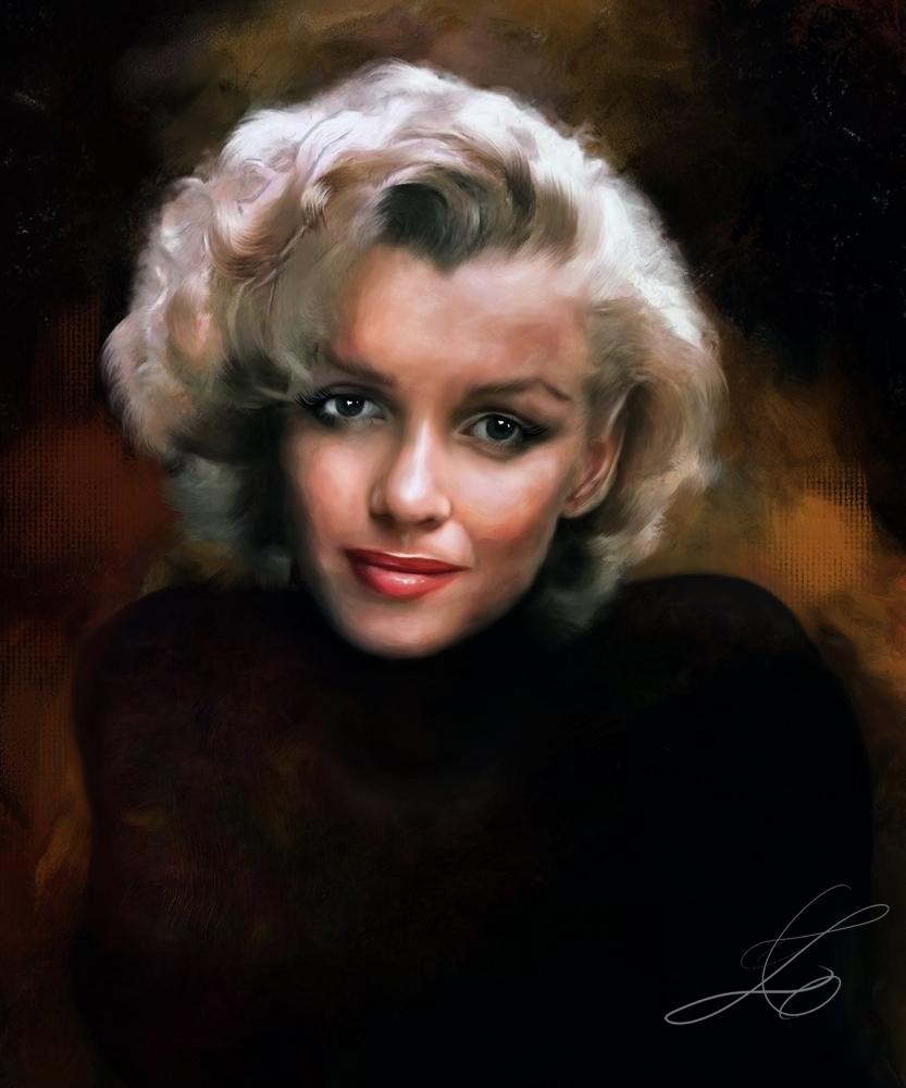 Marilyn Monroe por z6ig